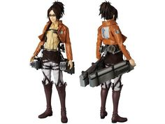 Real Action Hero RAH Hanji Zoe Exclusive - Attack on Titan Figures