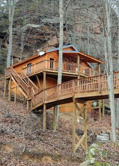 Cliff eagle chalet red river gorge red river gorge for Daniel boone national forest cabins