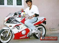 Ajith With Yamaha