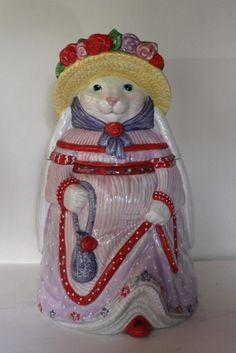 Easter Bunny Cookie Jar