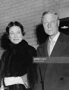 Portrait du duc de Windsor Edward VIII et de la duchesse de Windsor Wallis…