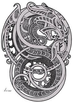Celtic Tattoo Ideas – How to Get an Ideal Celtic Tattoo Design Norse Tattoo, Celtic Tattoos, Rune Tattoo, Wiccan Tattoos, Inca Tattoo, Indian Tattoos, Viking Symbols, Viking Runes, Mayan Symbols