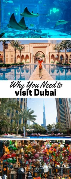 Photos of Dubai that will inspire you to visit one of the most fascinating countries in the world. Dubai is a city full of vibrance and awe. Middle East Destinations, Holiday Destinations, Travel Destinations, Dubai Travel, Asia Travel, Dubai Holidays, Travel Guides, Travel Tips, Travel Info