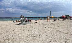 На пляже в Черноморском. 23 июня 2014 г.