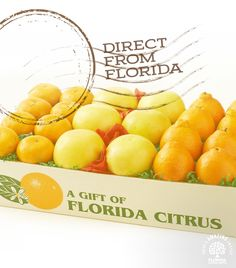 Give the gift of Florida Citrus and start a unique holiday tradition family and friends will look forward to every year.�Order before Dec. 8th to ensure delivery before the holidays.  Use SHIPFREE5 for free shipping with participating vendors.