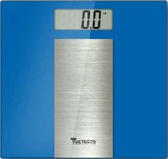 Detecto LCD Digital Scale, Blue, Stainless Steel, 4 Count By Detecto. $25.36