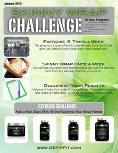 It Works skinny Wrap 90 day challenge.  I am starting my 90 days this Sunday, anyone want to join me?  Email heidi.finneran@yahoo.com Facebook 45 minutes 2 SEXY www.45minuteswithheidi.myitworks.com