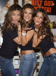 "Alessandra Ambrosio, Adriana Lima and Izabel Goulart Photo - Victoria's Secret ""What is Sexy"""