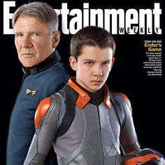Entertainment Weekly Cover not bad.. #endersgame #wavey - asabopp