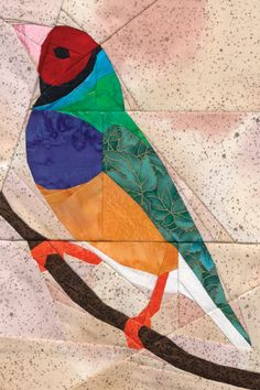 "This is Great..- check out her board ""birds-paper pieced"" talita duarte"