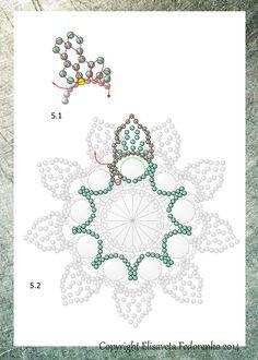 Уроку 39 — По фирменным цветочкам Елизаветы Федоренко Green Lizard. (5)
