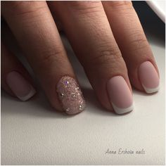 Classic french manicure, Classic nails ideas, Fashion nails 2017, French manicure, Gentle prom nails, Graduation nails, Prom french, Prom nails