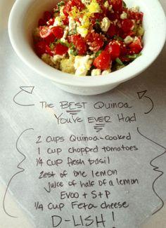 Easy Quinoa     from Yvearl.com