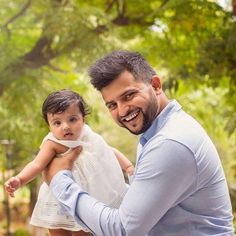 Suresh Raina with his daughter GRACIA! - http://ift.tt/1ZZ3e4d