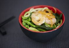 "Super Quick Stir Fry ""Zoodles"" on the The Green Machine Quick Stir Fry, Steam Veggies, Clean Eating, Healthy Eating, Build A Blog, Cooking Classes, Seafood, Fries, Food Photography"