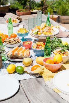 Outdoor Summer Entertaining Ideas and Recipes - Paper and Stitch
