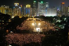 Candlelight Vigil in Hong Kong - June 4, 2012 (Sung Pi Lung/The Epoch Times)