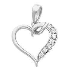 Platinum Diamond Heart Pendant - 0.05 Ct. Gems-is-Me. $546.16. This item will be gift wrapped in a beautiful gift bag. In addition, a 'gift message' can be added.. FREE PRIORITY SHIPPING. Save 40% Off!
