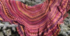 Ravelry: Conjure pattern by Cynthia Allen - so funny that I made this same shawl 40 yrs ago - wonder what happened to my pattern.