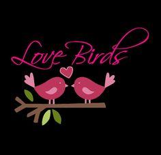 Cute love birds love birds love birds by SamsDigitalShack on Etsy