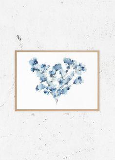 Field Flower Blue