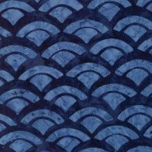 Blue watercolor shells on a midnight blue fabric. This batik fabric is wide, cotton. Colors and Shapes: Blue, Navy Blue Shell, Fan, Watercolor Designed by Pat Sloan Moda Fabrics - 43076 54 Watercolor Design, Cushion Fabric, Blue Fabric, Midnight Blue, Shells, Scallops, Bathrooms, Navy Blue, Sunday