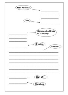 Formal Letter Format  Google Search  Writing