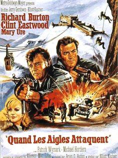 Where Eagles Dare- Burton, Eastwood