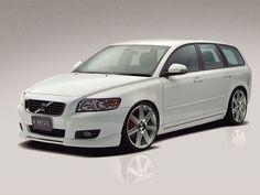 V50 gr8 looking wheels color n car