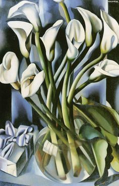 peira:    Tamara de Lempicka (1898-1980):  Calla Lillies (not dated)