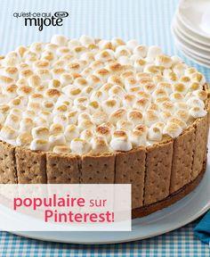 Gâteau S'mores à la crème glacée #recette