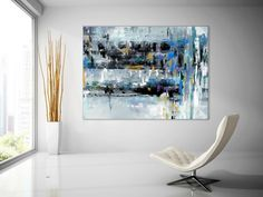 Extra Large Wall Art Textured Painting Original Painting,Painting on Canvas Modern Wall Decor Contemporary Art, Abstract Painting Unique Paintings, Original Paintings, Canvas Paintings, Abstract Paintings, Texture Art, Texture Painting, Modern Wall Decor, Wall Art Decor, Large Abstract Wall Art
