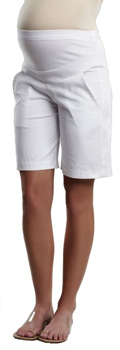 City Maternity Shorts by Maternal America   Maternity Clothes    Available at www.duematernity.com