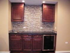 Wet Bar Cabinets - Aristocraft Rouge