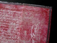photo n°3 : Beau carnet de la collection les manuscrits estampés modèle Jane Austen, Persuasion