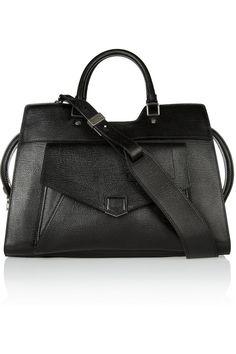 """Proenza Schouler The PS13 large leather shopper SIZE & FIT  Weighs approximately 4.4lbs/ 2kg  Width 15"""" / 38cm  Handle Drop 6"""" / 14cm  Height 11"""" / 28cm  Depth 6"""" / 16cm"""