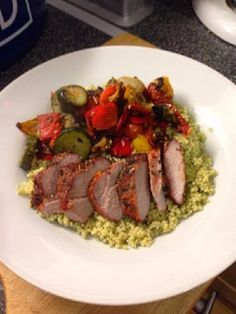 Marinaded paprika pork tenderloin (slimming world friendly) |