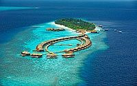 Maldives - Lily Beach Resort  Spa enjoys a great worldwide reputation for its pristine beaches, lush tropical vegetation and the exotic house-reef just few meters away from the shore. The favorable location in the spectacular Ari Atoll places Huvahendhoo island in close proximity to some of the most amazing dive sites in the world. jetsetter-curator