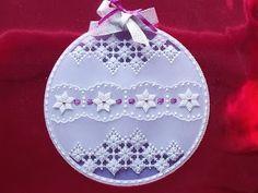 Pergamino Perfect Blog Craft: Pergamano libro Pattern Especial Navidad