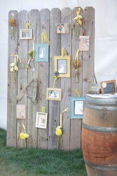 Family wedding photos at a grey and yellow wedding | Junebug Weddings