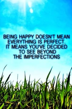 Being Happy :)