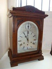 Edwardian Bracket Clock.