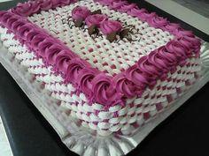 Cake Icing, Buttercream Cake, Cupcake Cakes, Cupcakes, Pretty Cakes, Beautiful Cakes, Amazing Cakes, Extreme Cakes, Bithday Cake