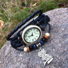 Retro Oval Owl Bracelet Watch only $19.9 in ByGoods.com!