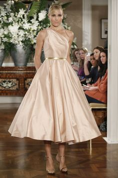 Top 6 Wedding Dresses of the Week: Tea-Length Edition! (Including 4 COLORFUL Wedding Dresses!) : Save the Date