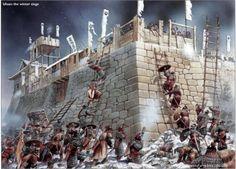 豊臣秀吉の朝鮮出兵、文禄慶長の役(韓国で言う壬辰倭乱)における、明軍との闘いの図