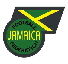 Jamaica Primary Logo on Chris Creamer's Sports Logos Page - SportsLogos. A virtual museum of sports logos, uniforms and historical items. Badges, Reggae Boyz, Logo Circular, Fifa Football, Association Football, Article Writing, Cover Photos, Google Images, First Love