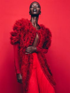Nykhor Paul for Marie Claire South Africa August 2015