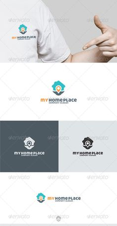 My Home Place Logo by Kapacyko Fully Editable Logo, AI, EPS, CDR, PNG files Used free font link in the zip folder Easy work and good luckDont forget to rate if