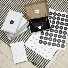 Nice packaging for handmade jewelry